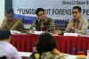 Sejumlah pembicara hadir dalam seminar tersebut, di antaranya Ludovicus Sensi Wondabio (Ahli Forensic Audit), Chandra M. Hamzah (Praktisi Hukum), G.P. Aji Wijaya (Praktisi Hukum) dan Andre Rahadian (Praktisi Hukum).
