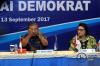KPK melakukan kunjungan ke DPP Partai Demokrat dalam rangka diskusi sistem integritas partai politik.