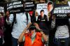 Selain itu, aktivis juga menuntut KPK segera menahan Ketua DPR RI tersebut.