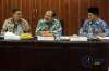 Ombudsman menyampaikan hasil investigasi serta meminta klarifikasi sejumlah pihak, salah satunya Kementerian Agama mengenai tata kelola pelayanan umrah, terkait kasus salah satunya First Travel.