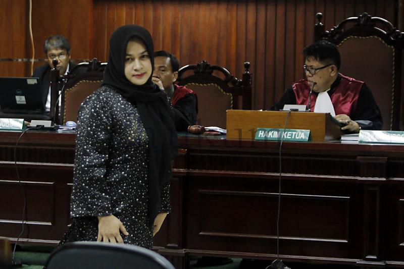 Pasca Bebas, Istri Mantan Gubernur Sumut Ingin Jadi Pengacara