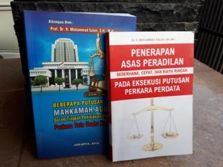 Dua  'Sumbangan Pemikiran' Mantan Wakil Ketua Mahkamah Agung