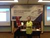 Ketua Kelompok Pengawasan Kepatuhan Penyedia Barang dan Jasa PPATK, Shalehuddin Akbar, dalam Pelatihan Hukumonline 2017 (31/10). Foto: Event & Training Hukumonline