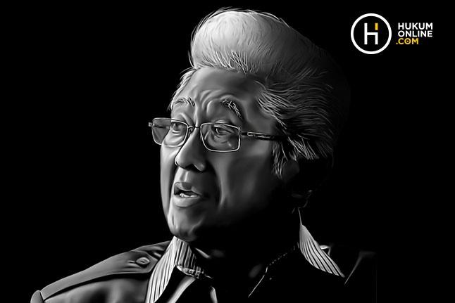Adnan Buyung Nasution. Foto ilustrasi: HGW