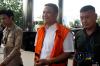 Tubagus Iman Ariyadi diperiksa penyidik KPK sebagai tersangka setelah dirinya ditangkap terkatit Operasi Tangkap Tangan (OTT) KPK dalam kasus suap pengurusan perizinan pembangunan Mall Transmart di Cilegon.