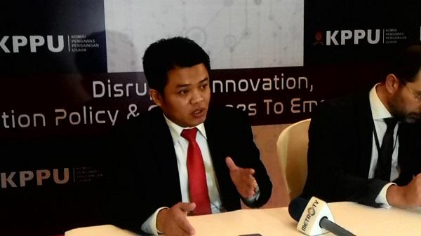 Ketua Komisi Pengawas Persaingan Usaha (KPPU), M Syarkawi Rauf. Foto: NNP
