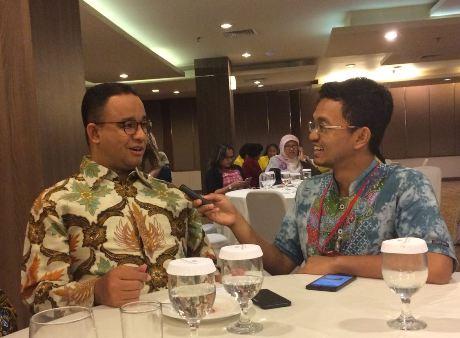 Berbincang tentang Hukum Bersama Gubernur Anies Baswedan: Hukum Harus Realistis!