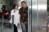 Ketua Umum Persatuan Pelayaran Niaga Nasional atauIndonesian National Shipowners Association (INSA) Carmelita Hartoto usai menjalani pemeriksaan oleh penyidik di gedung KPK, di Jakarta, Selasa (7/11).