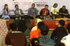 Dalam diskusiyang mayoritas diikuti kalangan mahasiswa itu bersepakat dan mendeklarasikan agar para pemuda untuk melakukan jihad melawan korupsi.