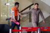 Plt Sekda Provinsi Jambi Erwan Malik selaku tersangka meninggalkan gedung KPK usai diperiksa di Jakarta, Selasa (5/12).