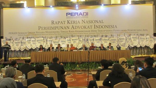 Jalankan Rekomendasi Rakernas, DPN PERADI Kubu Fauzie Gugat Peradi Lain ke Pengadilan