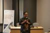 Bapak Hartowo, Operational & Marketing Manager dari PT. Surveyor Indonesia (PTSI) dalam Pelatihan Hukumonline 2018, Selasa (30/18). Foto: Event & Training Hukumonline