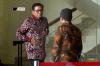 Mantan Ketua Fraksi Partai Demokrat tersebut diperiksa sebagai saksi untuk tersangka Anang Sugiana terkait kasus dugaan korupsi KTP elektronik.