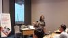 Ibu Anastasia Pritahayu RD - Senior Economist Assegaf Hamzah & Partners dalam Workshop Persaingan Usaha Hukumonline, Rabu (31/18), Foto : (Event & Training Hukumonline)