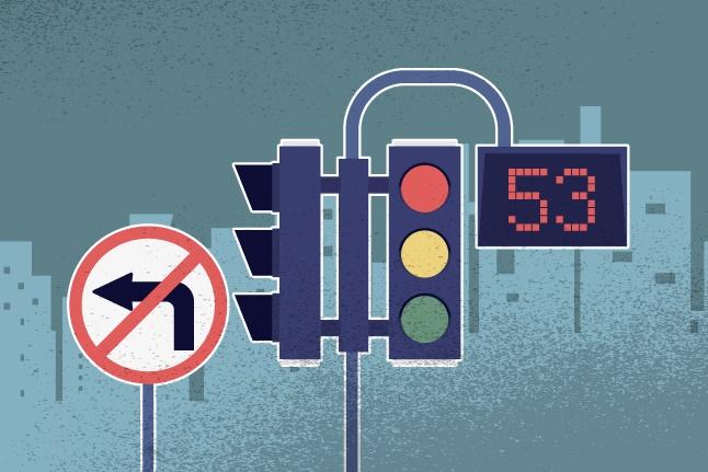 WaspadaTilang, Pengemudi Tidak Boleh Langsung Belok Kiri Saat di Persimpangan Jalan