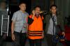 Nyono Suharli Wihandoko diperiksa sebagai tersangka yang terjaring dalam Operasi Tangkap Tangan (OTT) KPK terkait perizinan penempatan jabatan di Pemkab Jombang.