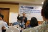 """Bapak Teguh Arifiyadi, selakuKetua Umum Indonesia Cyber Law Community (ICLC), dalam Pelatihan Hukumonline 2018 """"Memahami Cyber Law, Cyber Crime, dan Digital Forensic Dalam Sistem Hukum Indonesia (Angkatan Kelima)"""", Selasa (3/18). Foto: Event & Training Hukumonline"""