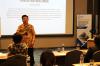 """Bapak Sudimin Mina MBA, MMSi, CA, CPMA, MOS – Master, Director of Software Asset Management and Compliance Microsoft Indonesia, dalam Workshop Hukumonline 2018 """"Peran Akuntansi Forensik terkait Kepatuhan, Fraud, Investigasi Internal dan Litigation Support"""",  Kamis (3/18). Foto: Event & Training Hukumonline"""