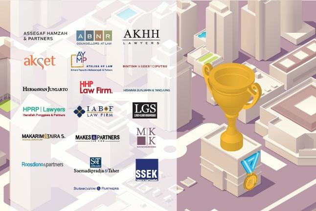 Ini Daftar 19 Corporate Law Firm Terbesar Indonesia 2017-2018