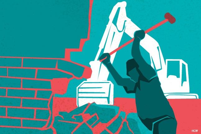 Hakim Kukuhkan Prinsip Umum Pembongkaran Bangunan