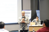 "Sesi Kedua bersama Bapak Zacky Husein bersama Bapak Teguh Arifiyadi dalam Workshop Hukumonline 2018 ""Hukum Perlindungan Data Pribadi Sekarang Dan Mendatang: Memahami Peraturan Perlindungan Data Pribadi Dalam Sistem Elektronik Serta Implikasi Bagi Pelaku Usaha"". Rabu (4/18). Foto: Event & Training Hukumonline."