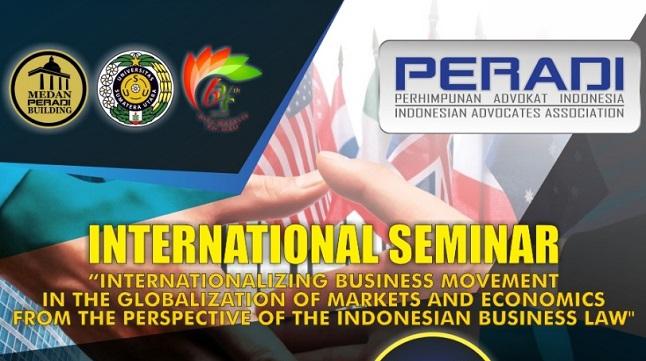 Peradi Gelar Seminar Internasional