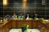 Komisioner Komnas HAM Mohammad Choirul Anam (tengah), Anggota Komisi III DPR RI Muhammad Syafii (kedua kanan) perwakilan dari TNI Kolonel Chk Edy Imran (kanan) serta dari Imparsial Al araf saat berdiskusi mengenai revisi UU Terorisme dalam perspektif HAM di kantor Komnas HAM di Jakarta, Senin (16/4).