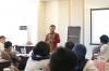 Bapak Juanda Pangaribuan - Mantan Hakim Pengadilan Hubungan Industrial, Jakarta Pusat, yang juga merupakan Narasumber dari Pelatihan Hukumonline 2018 Tata Cara Melakukan Pemutusan Hubungan Kerja Berdasarkan Undang-Undang Nomor 13 Tahun 2003 (Angkatan ke VII), Selasa (5/8). Foto: Event & Training Hukumonline.com
