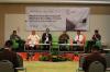 Wisamodro Jati (Kiri) selaku Akademisi Perpajakan, Petrus Loyani (Kedua dari Kiri) selaku Ketua Umum Perkumpulan Pengacara Pajak Indonesia (PERJAKIN), Mukhamad Misbakhun (Ketiga dari Kiri) selaku Perwakilan dari Komisi XI DPR, Darussalam (Ketiga dari Kanan) selaku Founder & Managing Partner dari DDTC, Sigit Danang Joyo (Kedua dari Kanan) selaku Perwakilan dari Direktorat Jenderal Pajak - Kementerian Keuangan, dan Miki Susanto Ginting (Kanan) dari Pusat Studi Hukum & Kebijakan Indonesia (PSHK) sebagai Moderator, dalam Talks! Hukumonline.com 2018