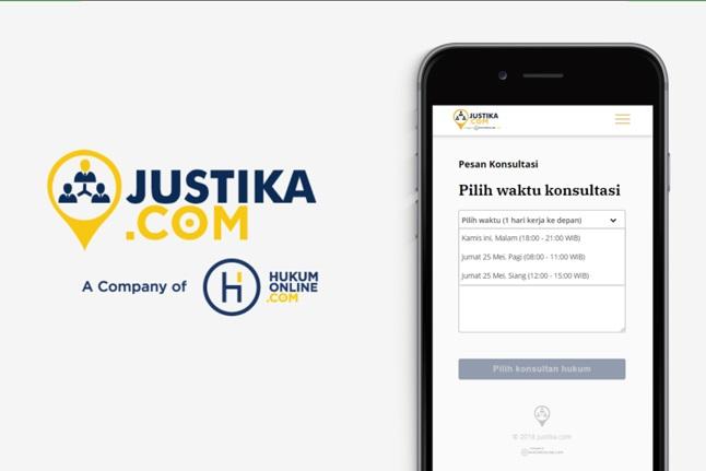 Personal Digital Assistance, Justika.com Tawarkan Aplikasi Sejenis Go-Lawyer