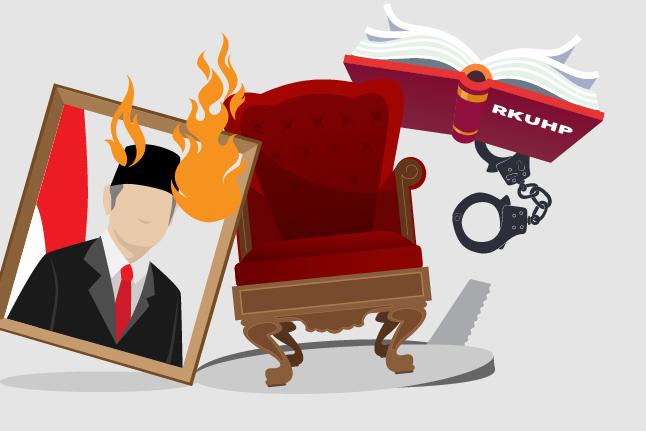 DPR-Pemerintah Pertahankan Pasal Penghinaan Presiden dalam RKUHP