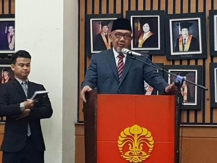Mantan Menteri Ini Berhasil Pertahankan Disertasi tentang  Kolaborasi Pemberantasan Korupsi