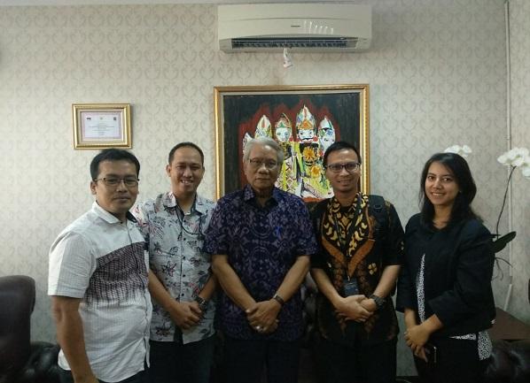 Hukumonline Beraudiensi dengan Ketua DKPP