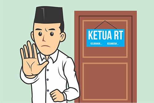Hukumnya Jika Ketua RT Melakukan Diskriminasi Terhadap Warganya