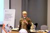 Ibu Dewi Kamaratih Soeharto – Partner Assegaf Hamzah & Partners menjadi Narasumber dalam Workshop Hukumonline 2018, Kamis (26/7). Foto: Event & Training Hukumonline.com