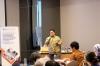 Bapak Nalendra Wibowo – Associate Assegaf Hamzah & Partners menjadi Narasumber dalam Workshop Hukumonline 2018, Kamis (26/7). Foto: Event & Training Hukumonline.com