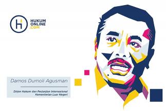 """Damos Dumoli Agusman, """"In House Lawyer"""" Pemerintah Spesialis Hukum Internasional"""