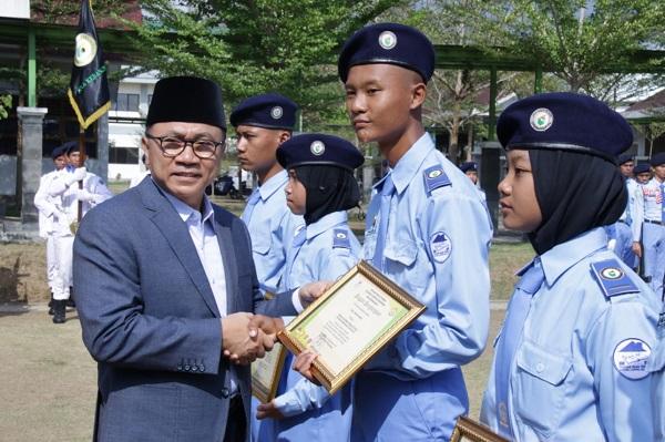 Ketua MPR Minta Siswa Terus Tingkatkan Kualitas Diri