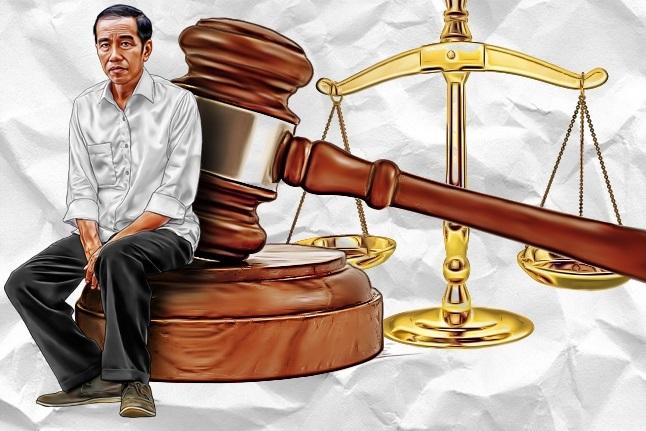 Rapor Hukum Jokowi-JK