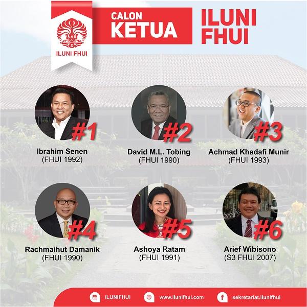 Advokat dan Notaris Kondang Perebutkan Kursi Ketua ILUNI FHUI