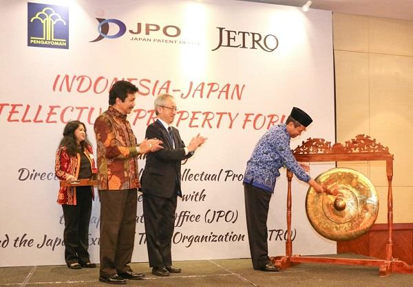 Indonesia Perkuat Kerja Sama Bidang Kekayaan Intelektual dengan Jepang
