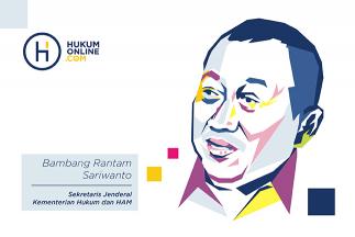 Bambang Rantam Sariwanto, dari Gotong Kursi Menuju Prestasi di Kursi Sekjen Kemenkumham