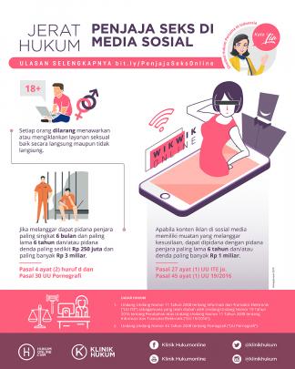 Jerat Hukum Penjaja Seks di Media Sosial