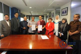 Hukumonline dan DPN Peradi Lanjutkan Kerja Sama Publikasi Online