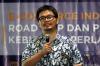 """Even Alex Chandra selaku Ketua Bidang Kebijakan Umum dari Asosiasi E-Commerce Indonesia (idEA) dalam Diskusi Hukumonline.com """"E-Commerce Indonesia: Road Map dan Perkembangan Kebijakan Perlakukan Perpajakan"""", Kamis (28/03). Foto: Redaksi"""