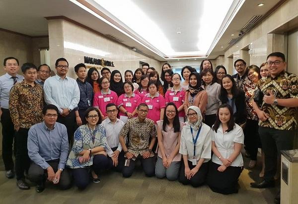 Kerja sama Makarim & Taira S dengan Center of Hope ISDI. Foto: Makarim & Taira S.