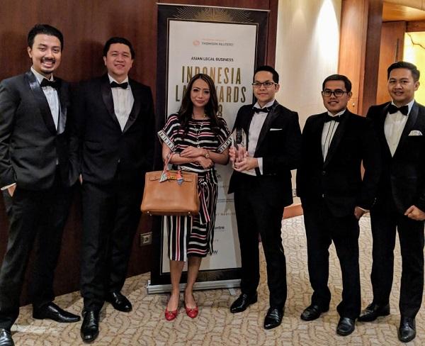 Para partners UMBRA di acara penerimaan ALB Award