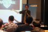 """Dedi Dwianto selaku Auditor dan Konsultan Keamanan Informasi dari Indonesia Cyber Law Community (ICLC) dalam Pelatihan Hukumonline 2019 """"Strategi Keamanan Siber: Penanganan, Pencegahan, dan Penanggulangan Serangan Siber"""", Rabu (19/06/2019). Foto: RS"""