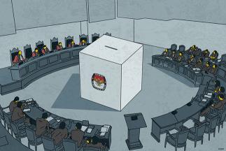 Kala MK Ingatkan Advokat Wajib Pakai Toga di Sidang Sengketa Pilpres