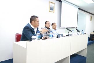 Mantan Dirjen Pajak dan Ketua Pengadilan Pajak Mengisi Pembukaan Pendidikan 'Brevet Eksekutif XI'